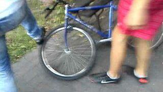 Rozwalanie roweru 3