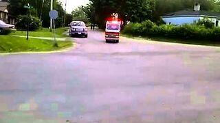 Najmniejszy wóz strażacki na świecie