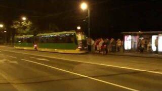 Powrót do domu na tyłach tramwaju