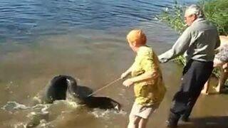 Rosjanie na rybach