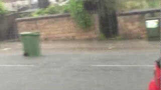 Wheelie Bin race - The Lovely Newcastle Weather