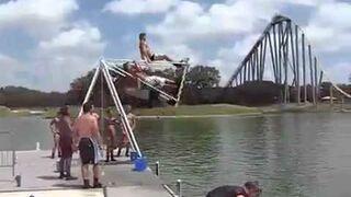 Crazy water jump