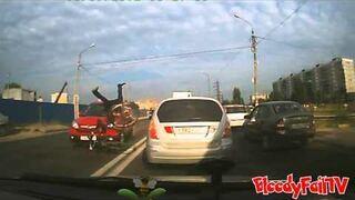 Rosja: Potrącony rowerzysta