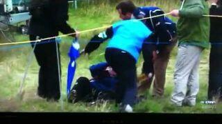 Zamach piłeczką golfową