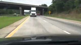 Highway Scare Prank on Wife