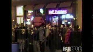 Drunk Climbing at Mardi Gras FAIL