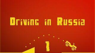 Jazda na drogach w Rosji. Kompilacja wypadków