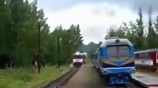 Czelabińskie tory kolejowe