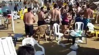 Walka na plaży