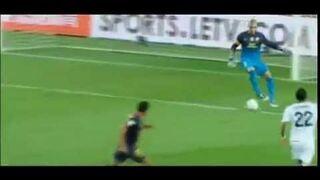 Victor Valdes Fail Vs Real Madrid F.C.Barcelona di Maria goal