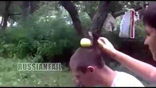 Rosja: Trik z jabłkiem