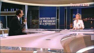 Hollande chante Super Mario!