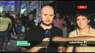 Czechy: Zabawa z reporterem