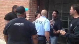 Prosił się o lanie / Fight with police