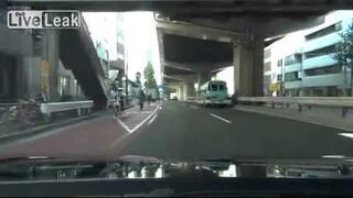Police chase in Japan