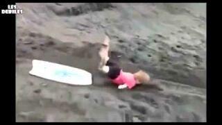 Surfing na skarpie