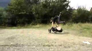 Salto na motorze