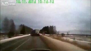 Serious accident in Russia