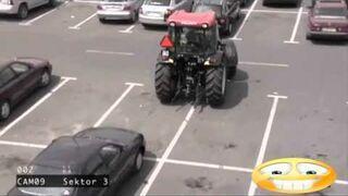 Mistrzyni parkowania traktorem