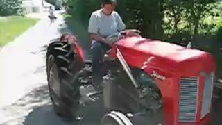 Traktor z silnikiem GTI