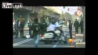 Motorbiker accident