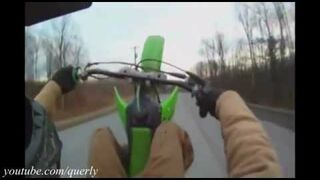 Kompilacja wypadków motocyklowych