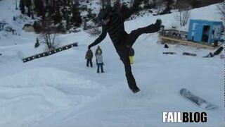 Snow Sport FAIL - Double Feature