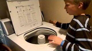 Autystyczny chłopiec gra na pralce - niesamowity talent