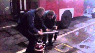 Rosyjska zabawa strażaków