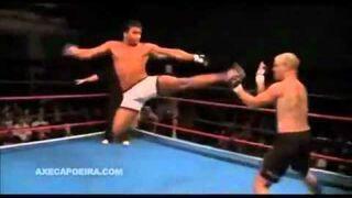 Capoeira w ringu