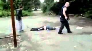 Rosjanin chciał się bić i dostał strzała
