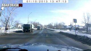 Road Car Crash - video compilation 2013 - 2