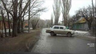Porysowany samochód