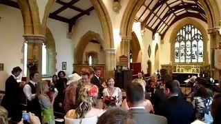 Pijany organista na ślubie