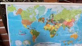 Wojtuś vs mapa świata