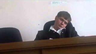 Rosja: Sędzia śpi podczas rozprawy
