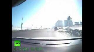 Meteoryt w Rosji: Eksplozja w Urals