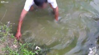 Łowienie ryb prądem