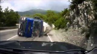 Kompilacja wypadków samochodowych No.7