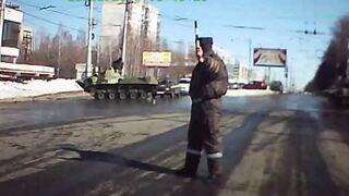 Rosyjski czołgista