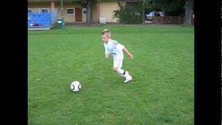 10-letni Dawid Hanc, następca Cristiano Ronaldo