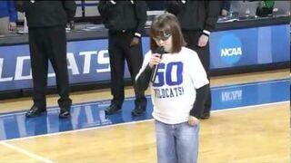 Niewidoma dziewczynka z kapitalnym głosem!