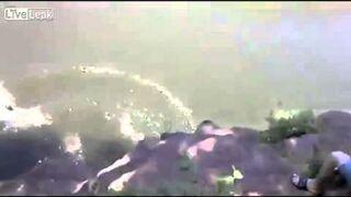 River Jump FAIL