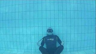 Spiderman pod wodą
