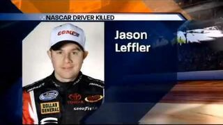 Jason Leffler's Fatal Crash (News Report)