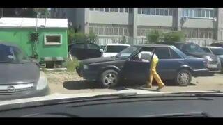 Zastawił mu AUTO - Potraktował go betonem!