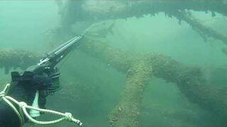Podwodne polowanie - leszcz 2 kg
