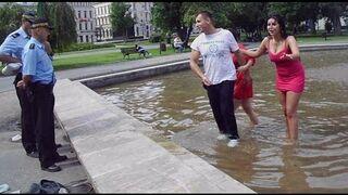 Tylko u Nas: Gorące kobiety na Placu Litewskim