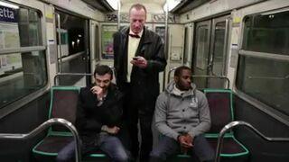Kradzież telefonu w metrze!