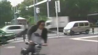 Drift na rowerze!